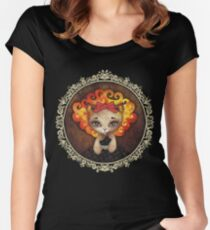 Cowardly Lioness Women's Fitted Scoop T-Shirt