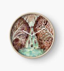 Mandala -waterfall Clock