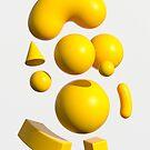 Yellow Portraits 3D by Marc Urtasun