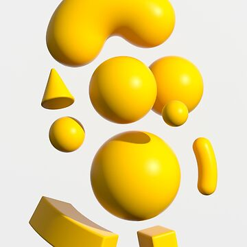 Yellow Portraits 3D by marcgraphics