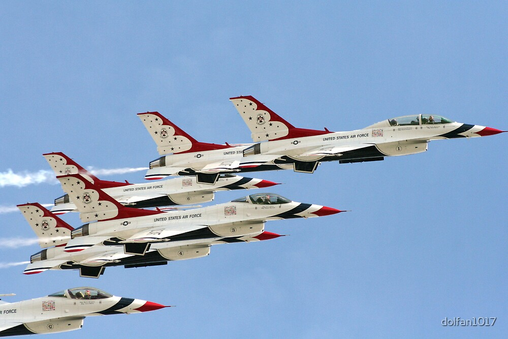 Daytona 500 Flyover by dolfan1017