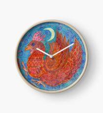 Mandala, chicken Clock