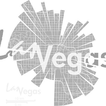 Las Vegas map by UrbanizedShirts