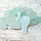 Sea Foam Sea Glass Bright and Pale by Teresa Schultz