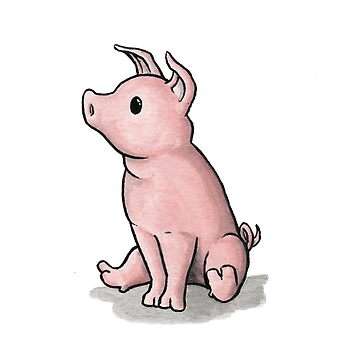 Pig  by Mary-Barrows