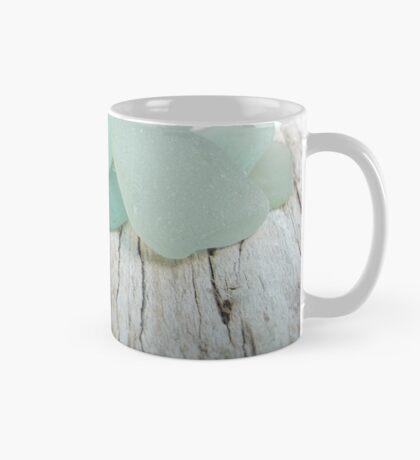 Sea Foam Sea Glass Small Collection Mug