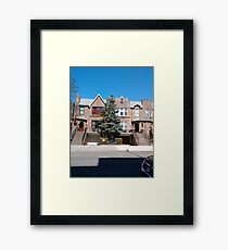 New York City, New York, Brooklyn, Manhattan, building, house Framed Print
