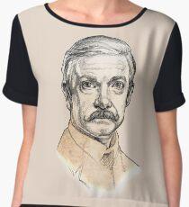 Dr John H. Watson - Martin Freeman Portrait Sketch Abominable Bride  Chiffon Top