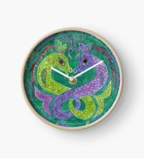 Mandala, kelpies Clock