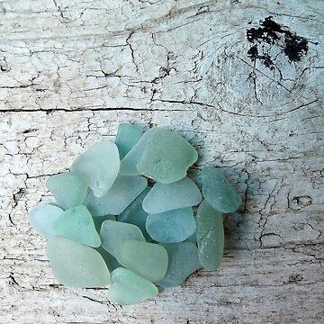 Sea Foam Sea Glass Shades by TerryArts