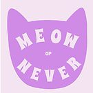 Meow or never by siyi
