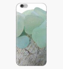Sea Foam Sea Glass Pieces Small Selection iPhone Case