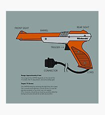 Nes Zapper Shoot them! Photographic Print