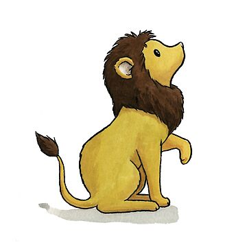 Lion by Mary-Barrows
