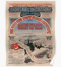 Vintage poster - Orient Express Poster