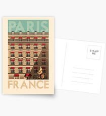 Travel Posters - Paris France Postcards