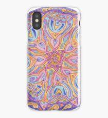 knotwork mandala iPhone Case