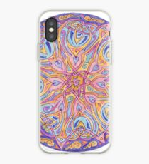 knotwork mandala iPhone Case