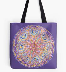 knotwork mandala Tote Bag