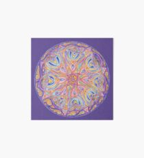 knotwork mandala Art Board