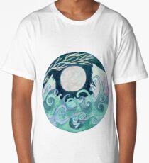 stormy Mandala Long T-Shirt