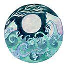 stormy Mandala by Vicky Stonebridge