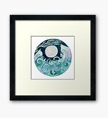 stormy Mandala Framed Print