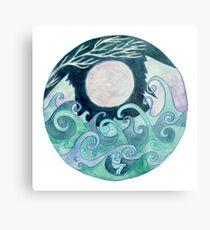 stormy Mandala Metal Print