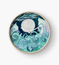 stormy Mandala Clock