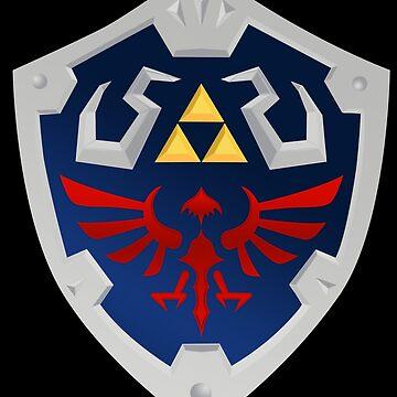 Zelda - Hylian Shield by Jaelachan