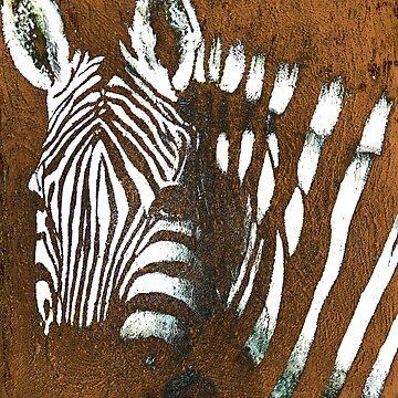 zebra by galeriewenzel
