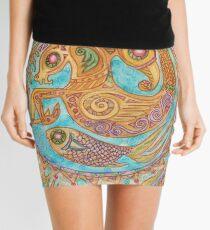 mandala Byzantium beasties Mini Skirt