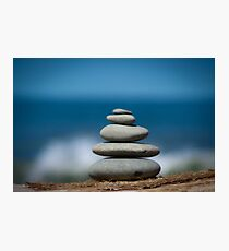 Stone Stack Photographic Print