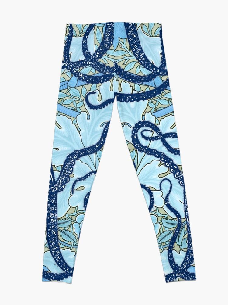 e94c33e955d63 Alternate view of Antique Octopus with William Morris Wallpaper Leggings
