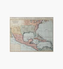 Vintage Map of The Gulf of Mexico (1732) Art Board