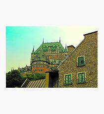 Le Chateau Frontenac Photographic Print