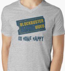 Blockbuster Video Vintage Men's V-Neck T-Shirt