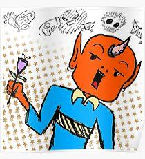 6Dogs Orange Guy Poster