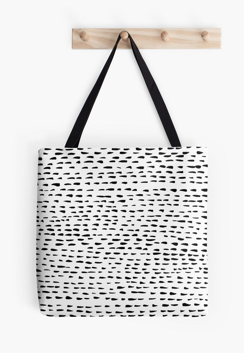 Abstract dotted lines minimalist pattern by shoshannahscrib