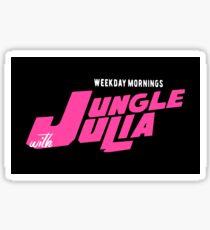 Jungle Julia Sticker
