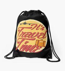 It's travel time! Drawstring Bag