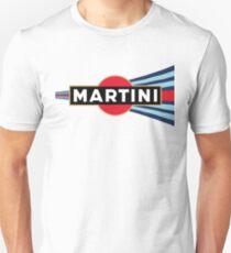 Martini Racing curved stripe Unisex T-Shirt