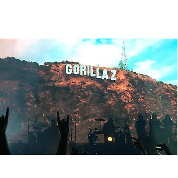 Gorillaz Hollywood Sign: 2018 Concert by S-Timmons