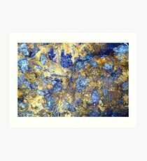 Colors in Stone Abstract Art Print
