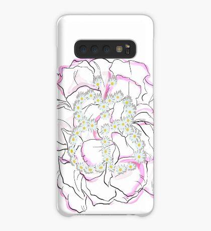 Schmetterlingsblume Hülle & Skin für Samsung Galaxy