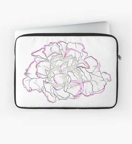 Schmetterlingsblume Laptoptasche