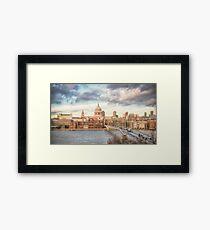 City of London Skyline Framed Print