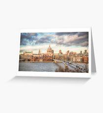 City of London Skyline Greeting Card