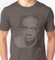 Jay-Z Lyric Portrait T-Shirt