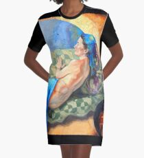 Welcoming the Golden Age Graphic T-Shirt Dress